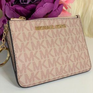 ❤️Michael Kors SM Coin Pouch Wallet W ID pouch